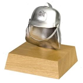 Brandweer beeldje helm 12 cm