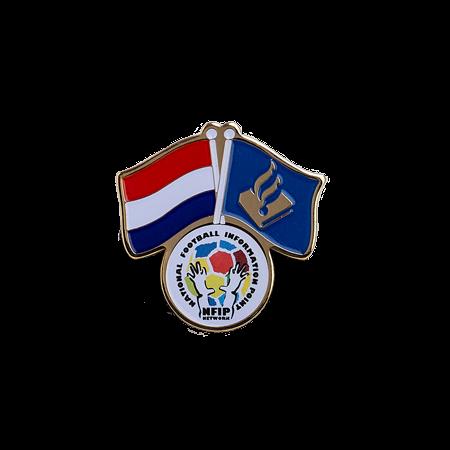 Vlaggen pins Politie NFIP eigen logo