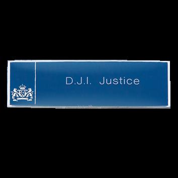 Naambadge Justitie