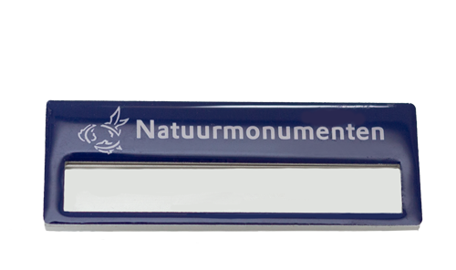 Naambadge Natuurmonumenten