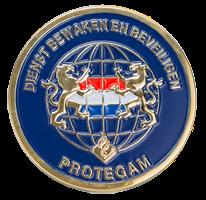 Coin Politie Dienst Bewaken en Beveiligen