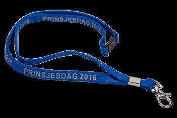 Halskoord Prinsjesdag 2016