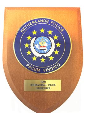Wapenschild Politie Uitzendingen