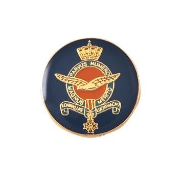 KLU pin met logo in kleur