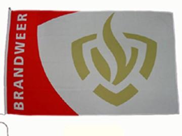 Brandweer vlag 1,5 x 2,25 m