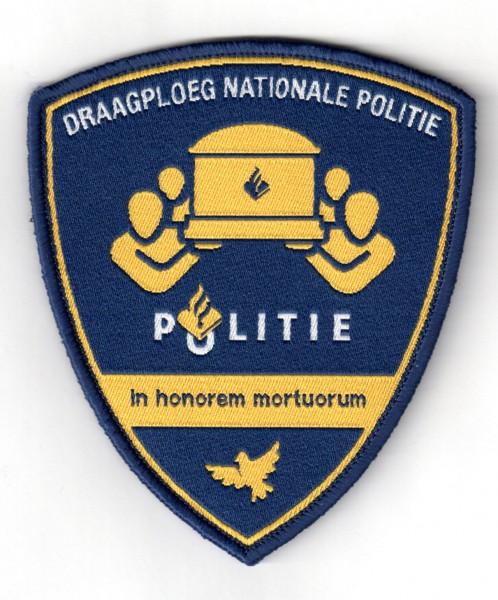 Geweven embleem Politie