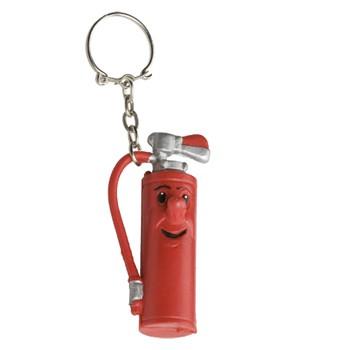 Brandweer sleutelhanger Blusser