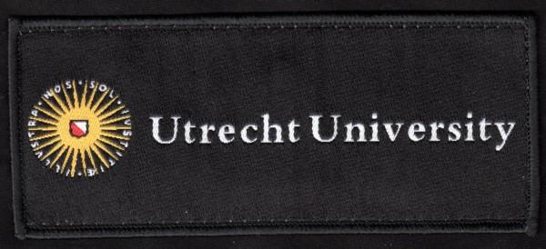 Geweven embleem Utrecht University