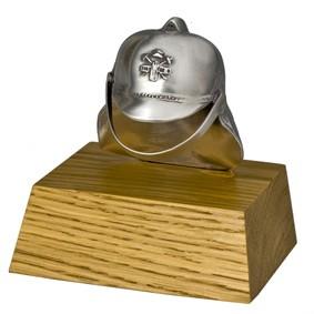 Brandweer beeldje helm 10 cm
